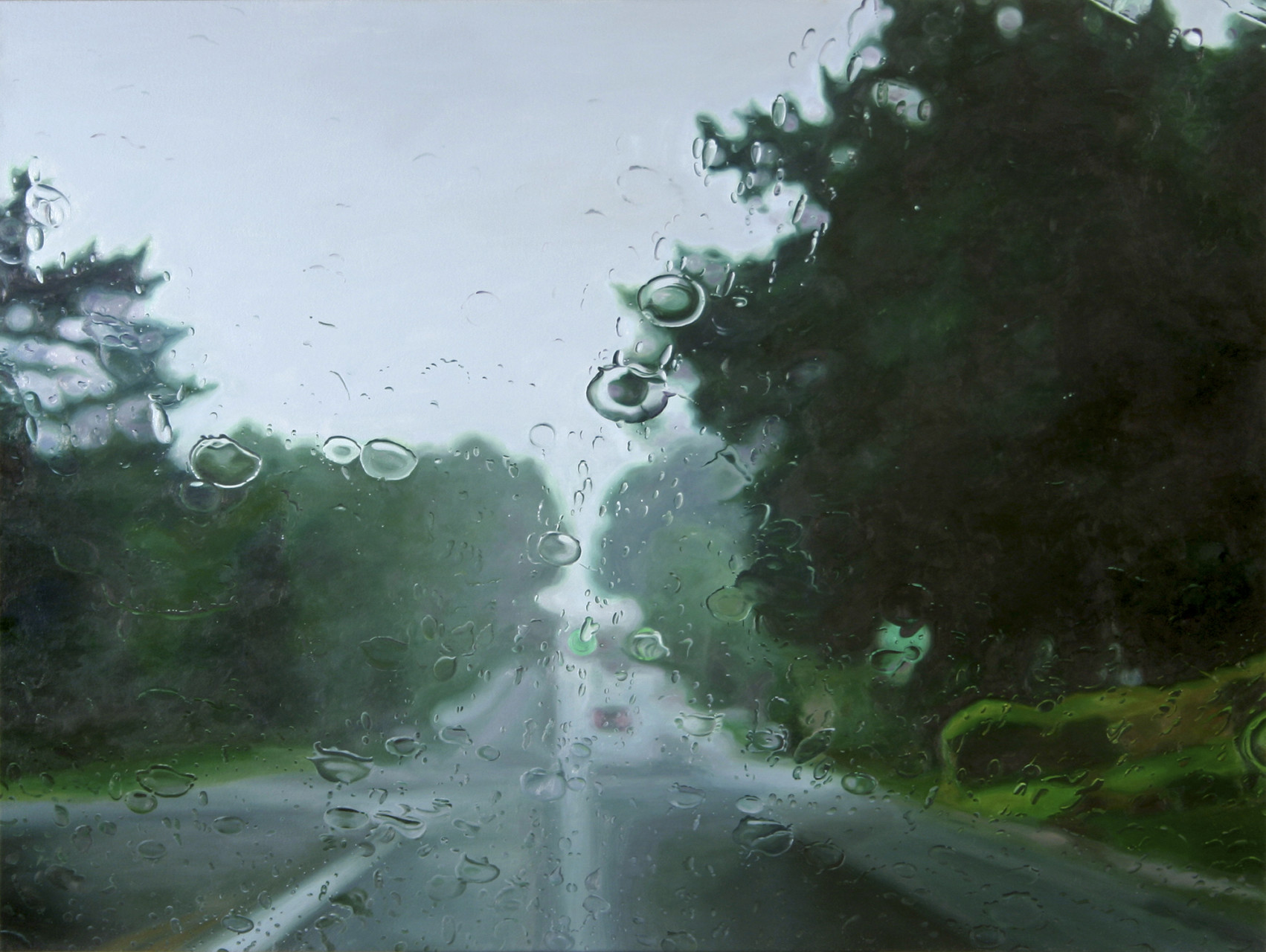 'Low road'  2006 oil on canvas 36 x 48 inches