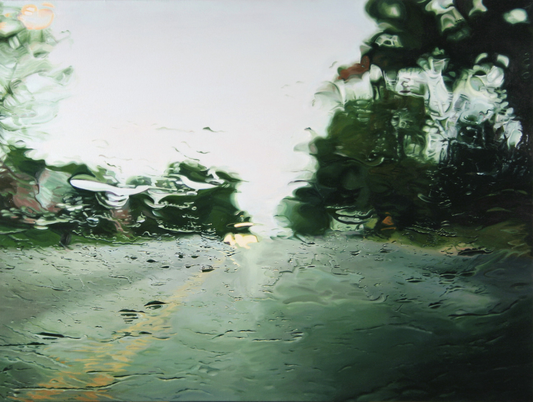 'Route 7'  2006 oil on canvas 36 x 48 inches